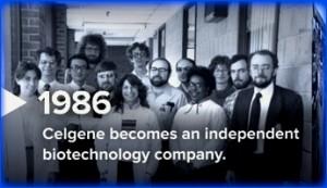 Celgene, 1986