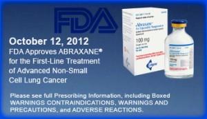 FDA Approves Abraxane
