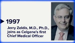 Celgene, Jerry Zeldis