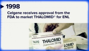 FDA approves Thalomid for ENL