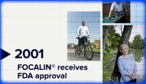 FOCALIN receives FDA approval