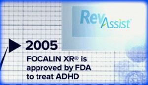FOCALIN XR approve by FDA for ADHD