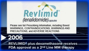 Revlimid receives FDA approval for MM