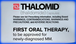 Thalomid approved for MM