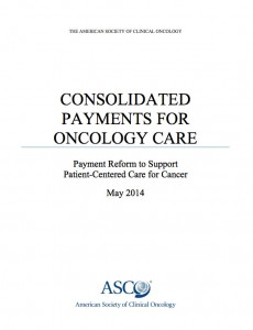 ASCO Consolidated Payments for Oncology Care