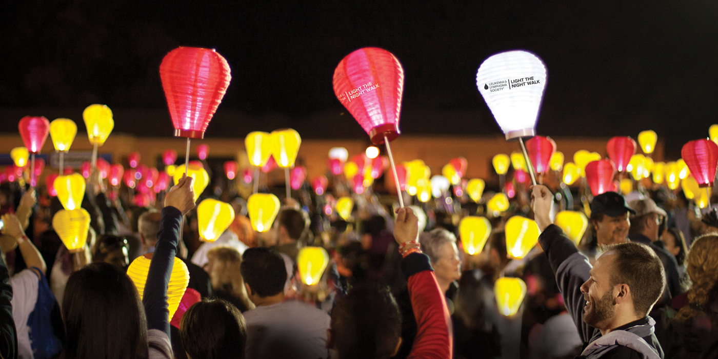Light the Night lanterns
