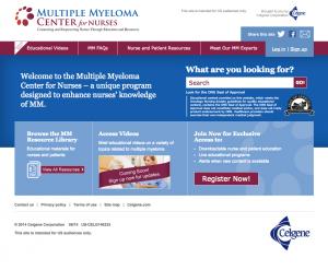Multiple Myeloma Center for Nurses