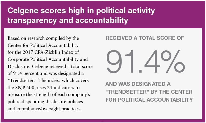 political activity transparency and accountability