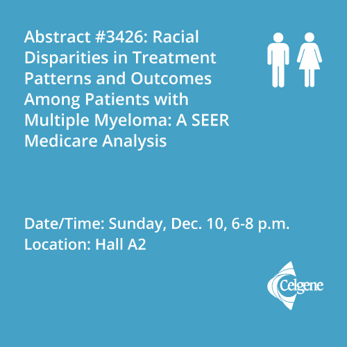 Dec. 10 | Dr. Ailawadhi presents the significant variations of treatment patterns among different racial/ethnic groups with Medicare being treated for multiple myeloma
