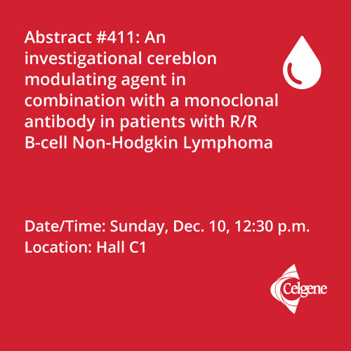 Dec. 10 | Dr. Michot presents results of combination treatment with different MOAs in patients with R/R B-NHL