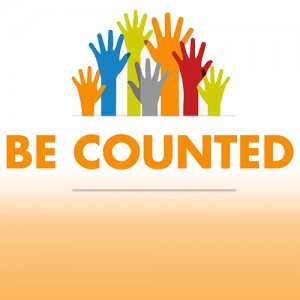 Be Counted logo