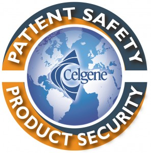 Celgene patient safety and product security