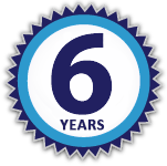 6 Years Badge
