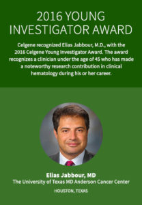 2016 Young Investigator Award