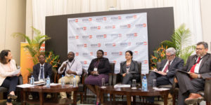 """THE """"ENGAGING ACROSS SECTORS AND DISCIPLINES TO ADDRESS NCDs"""" PANEL INCLUDED PATIENTS, HEALTHCARE PROFESSIONALS, BIOPHARMACEUTICAL COMPANIES, NON-PROFIT ORGANIZATIONS AND KENYA'S MINISTRY OF HEALTH."""