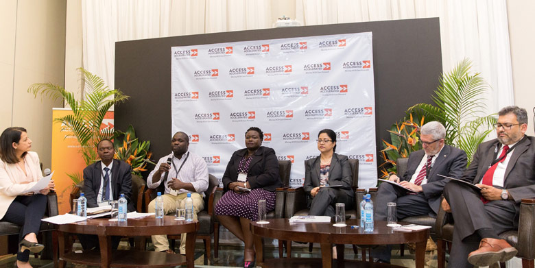 "THE ""ENGAGING ACROSS SECTORS AND DISCIPLINES TO ADDRESS NCDs"" PANEL INCLUDED PATIENTS, HEALTHCARE PROFESSIONALS, BIOPHARMACEUTICAL COMPANIES, NON-PROFIT ORGANIZATIONS AND KENYA'S MINISTRY OF HEALTH."