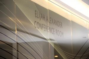 Elijah Alexander conference room