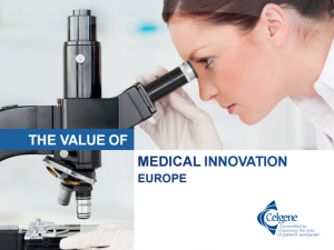 Celgene Value of Medical Innovation