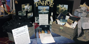 ONE OF THE ITEMS THAT WAS AUCTIONED OFF DURING THIS YEAR'S CELGENE SILENT AUCTION FOR LIGHT THE NIGHT WAS A LAKE TAHOE EXPERIENCE PACKAGE.