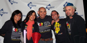 CELGENE TEAM MEMBERS FROM SAN DIEGO WALKED IN THE 2015 LIGHT THE NIGHT WALK TO RAISE FUNDS FOR BLOOD CANCER RESEARCH.