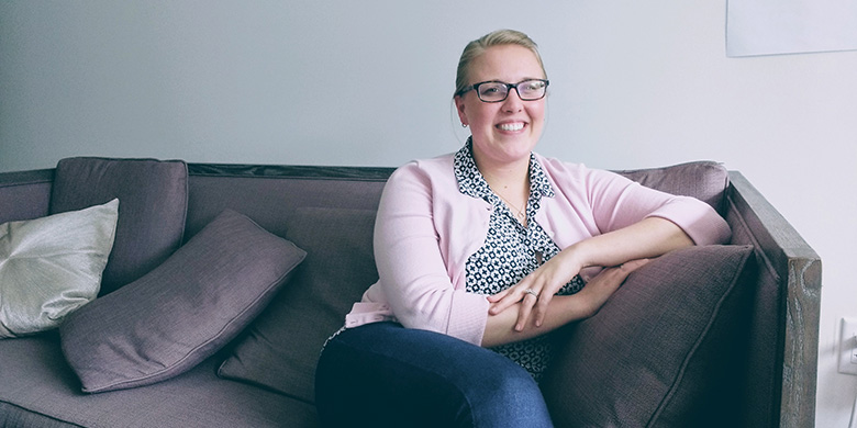 AFTER TEN YEARS OF TRYING DIFFERENT THERAPIES, KROFT AND HER DOCTOR FINALLY FOUND A TREATMENT PLAN THAT HELPS HER MANAGE HER UC SYMPTOMS.
