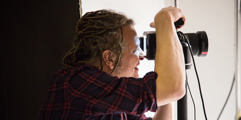 PORTRAIT PHOTOGRAPHER MARTIN SCHOELLER ENCOURAGES OTHERS NOT TO FEAR THE SPOTLIGHT.