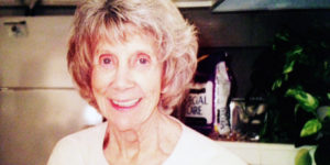 CAROLYNN KIEL'S MOTHER (PICTURED ABOVE) WAS DIAGNOSED WITH PANCREATIC CANCER IN 2001 AND PASSED AWAY ABOUT TWO MONTHS LATER. HER DEATH SPURRED KIEL TO BEGIN ANNUAL PANCREATIC CANCER SCREENING, WHICH RESULTED IN AN EARLY DIAGNOSIS.