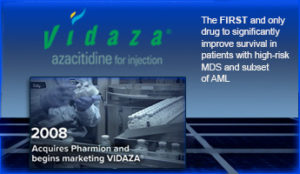Pharmion and vidaza