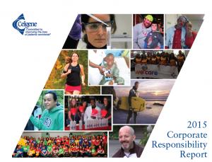 Celgene corporate responsibility 2015