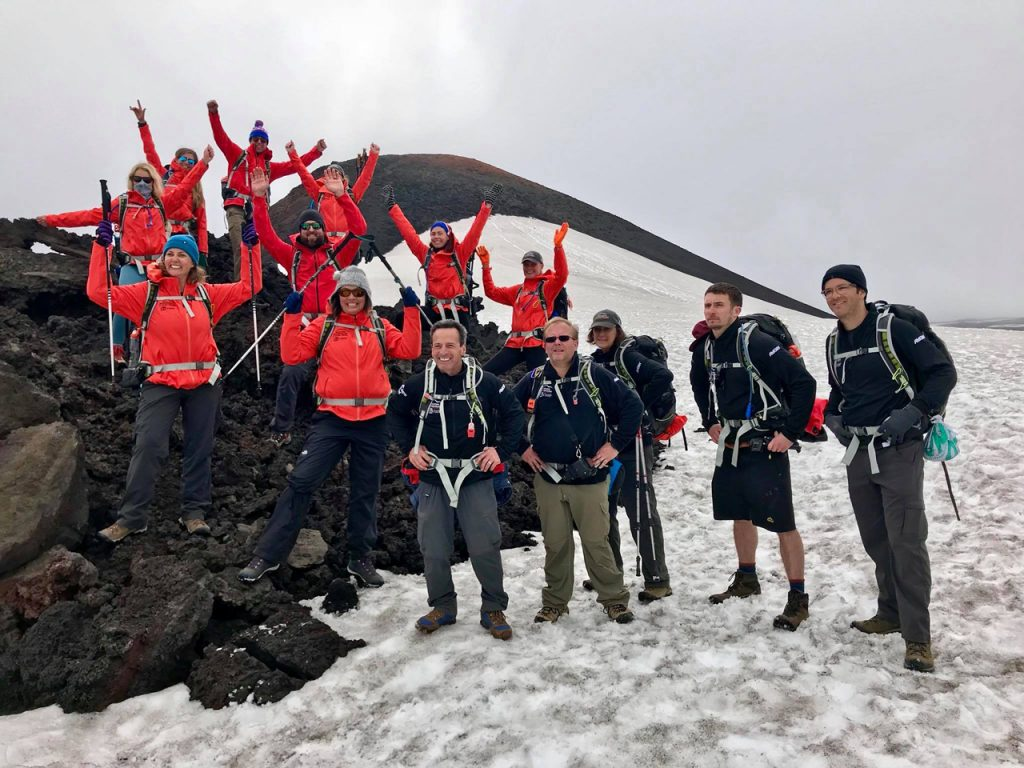 RICH APPELBAUM BONDS WITH HIS TEAMMATES DURING THEIR TREK ACROSS ICELAND.