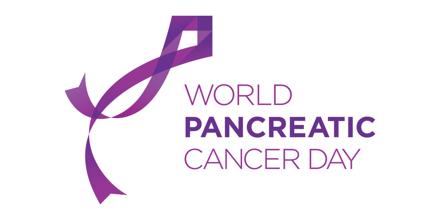 Wereld Pancreatic Day Cancer logo