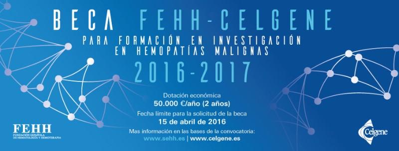 Beca FEHH-Celgene