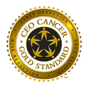 CEO Cancer Gold Standard logo