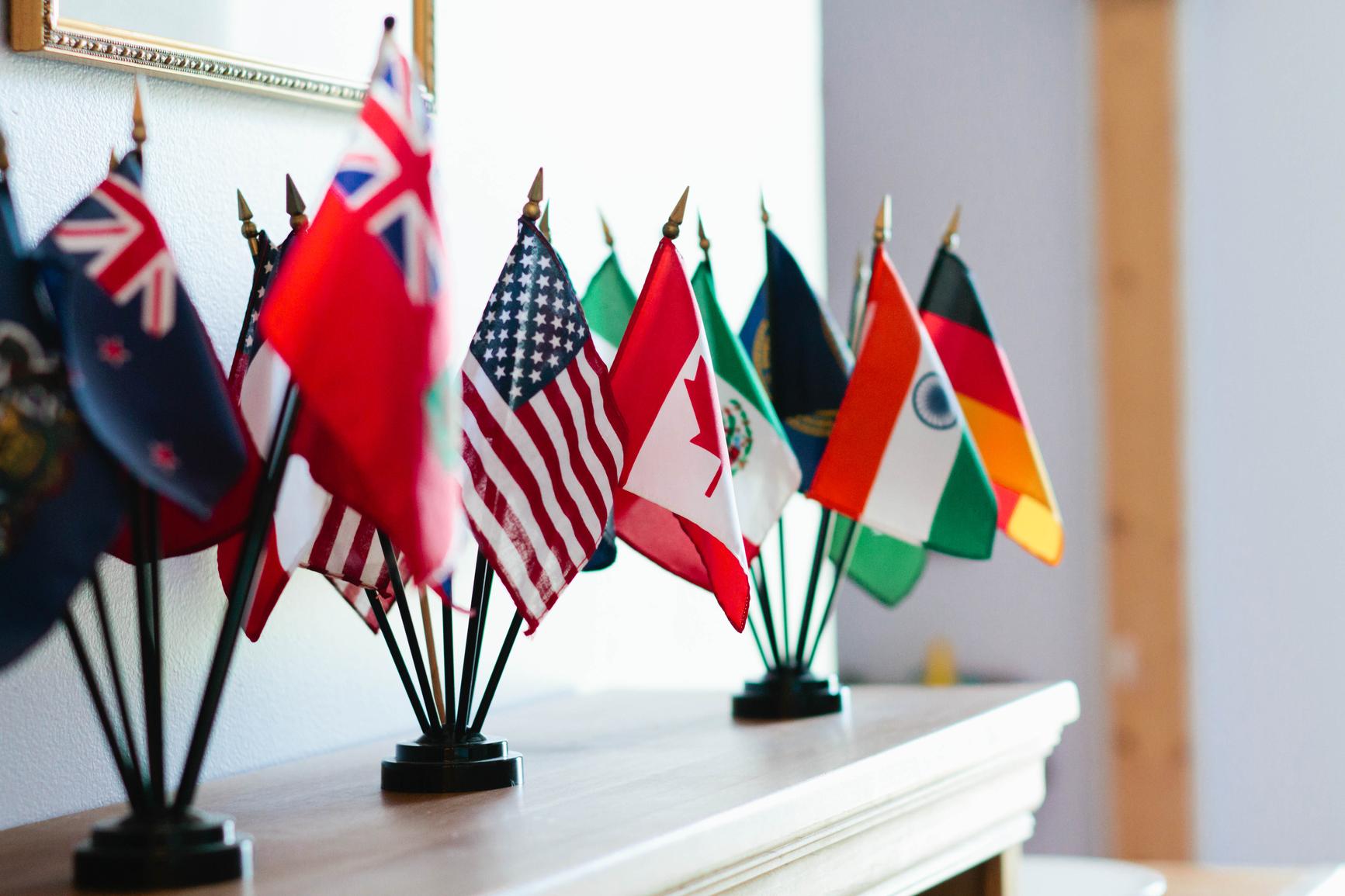 kansainväliset liput