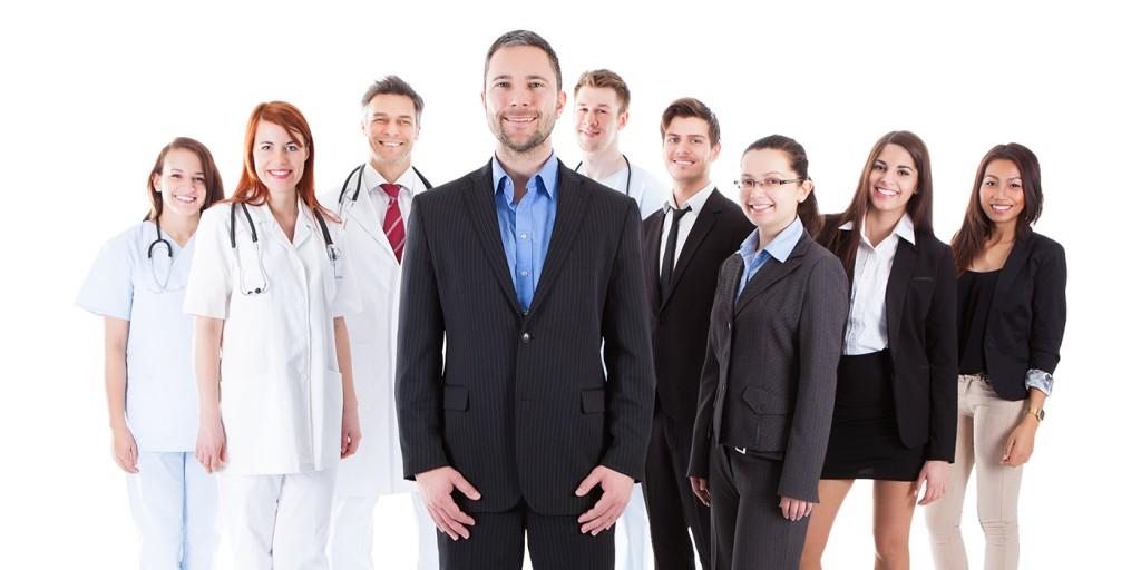Medicos sonrientes