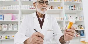 Farmacéutico, Mirar, medicación