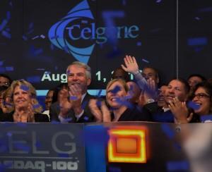 Celgene leadership at NASDAQ