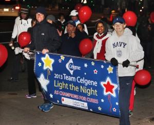 Celgene at Light the Night, 2013