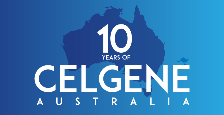 Ten Years of Celgene Australia