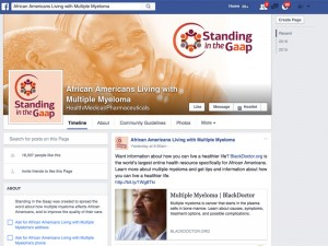 Celgene launched their Standing in the Gaap initiative to bridge the gaps in care for African Americans with multiple myeloma.