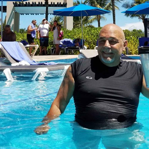 Taking Charge of Lung Cancer His Way