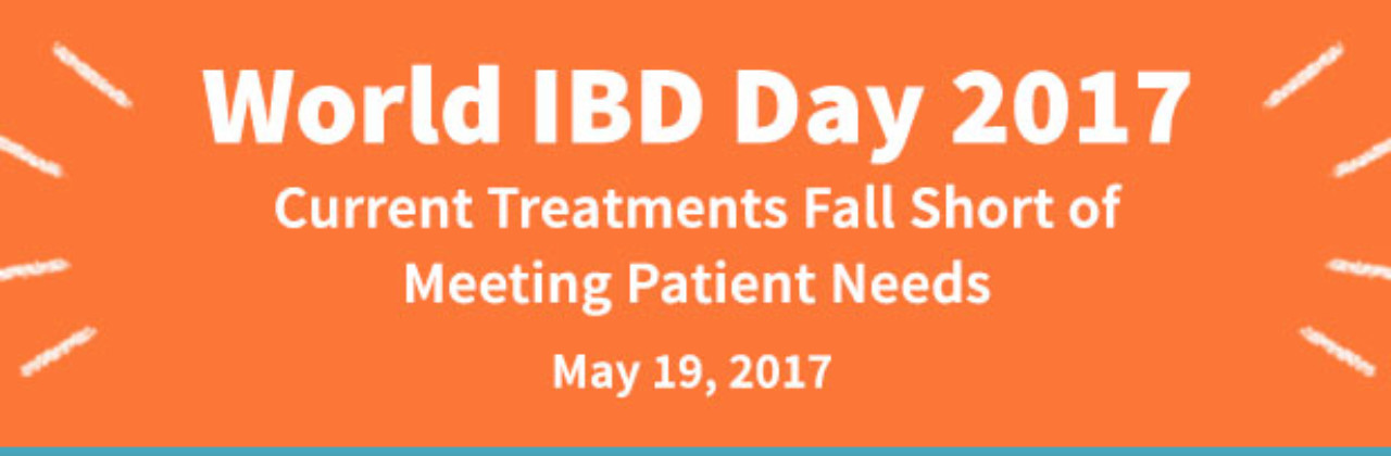 World IBD Day: Current Treatments for IBD Not Meeting Patient Needs