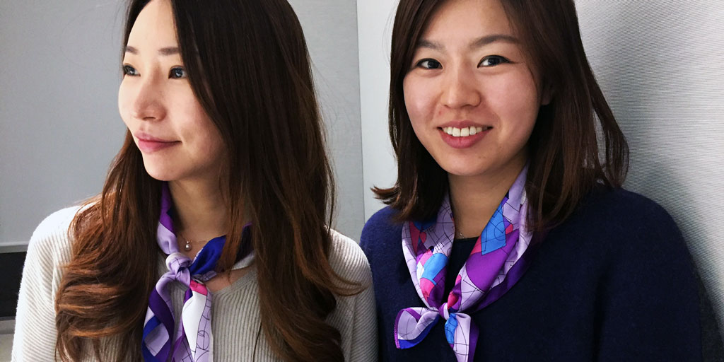 Celgene employees in Korea wore purple scarves and clothing to commemorate World Pancreatic Cancer Day 2016.