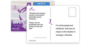 Celgene Slovakia, World Pancreatic Cancer Day