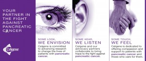 Celgene: Your partner in the fight against pancreatic cancer.